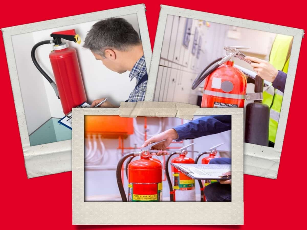 Fire Extinguisher Collage